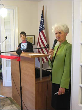 Women's Center Inauguration - Nancy